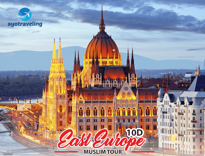 Paket Wisata 10 D Hikmah Amazing East Europe Muslim + Neuschwanstain Castle (Winter Season) November - Desember 2018 Januari - Maret 2019