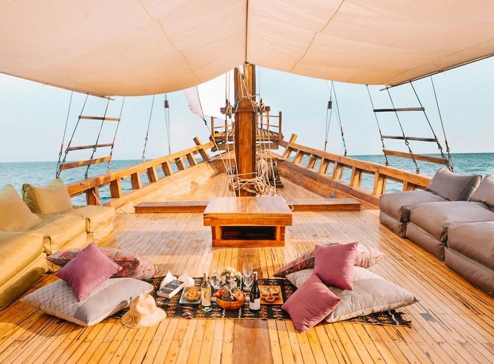 Paket Sewa Kapal Komodo Labuan Bajo – Gammara Phinisi Liveaboard 2021 Harga – Opentrip – Itinerary 3